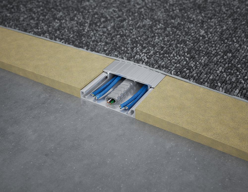 2 7 Under Carpet Wireway