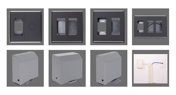 Device Boxes and Wall Feeds