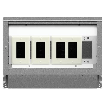 FL-400 Floor Box 1-1-2 Configuration