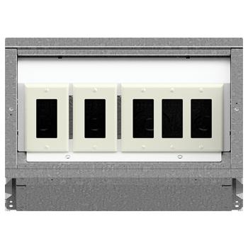 FL-400 Floor Box 1-1-3 Configuration