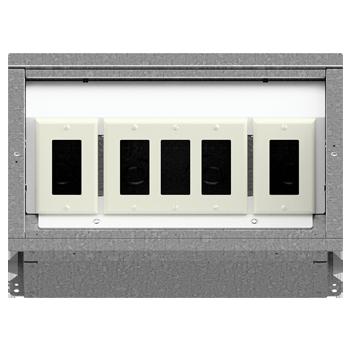 FL-400 Floor Box 1-3-1 Configuration