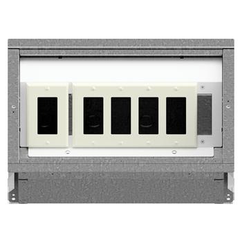 FL-400 Floor Box 1-4 Configuration