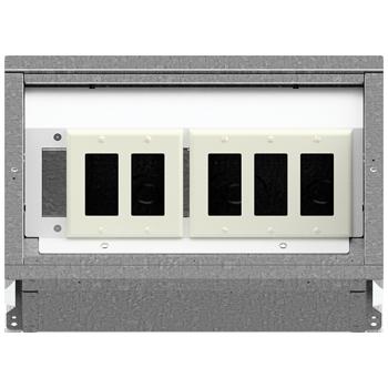 FL-400 Floor Box 2-3 Configuration
