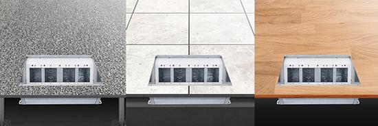 FL-400 Floor Box flooring