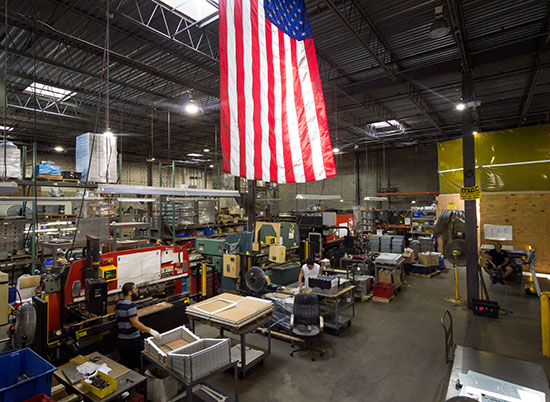 FSR Metal Fabrication Warehouse