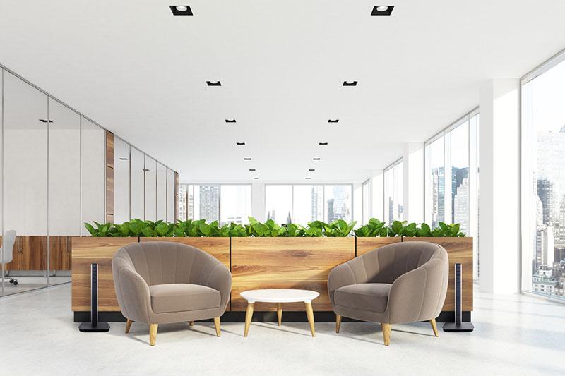 Sym Pedestal office lobby 2