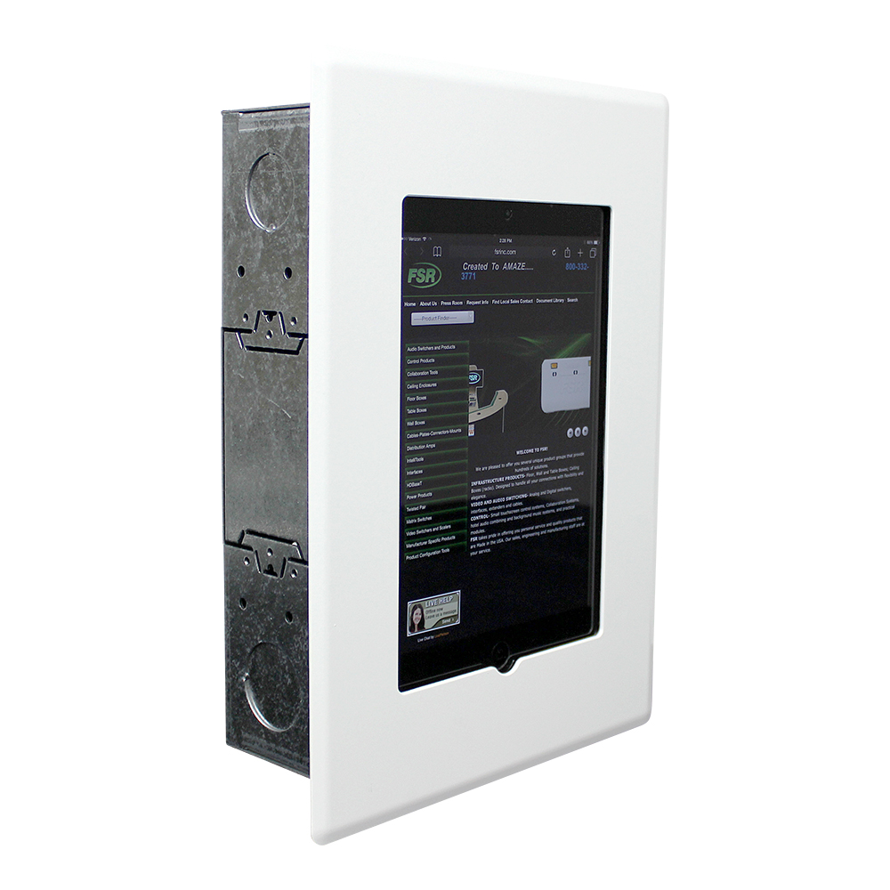 Flush Mount Ipad Wall Enclosure