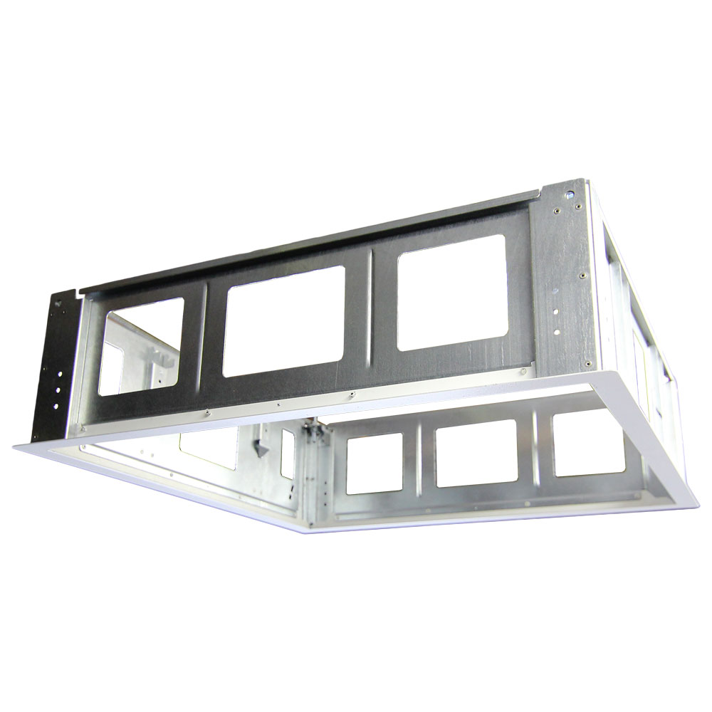 drywall mounting frame for use with cb 22
