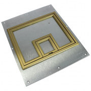 "FL-540P Cover - 1/4"" Brass Flange"
