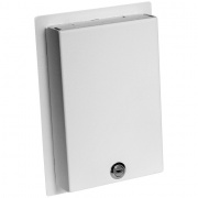 wb-ms1g- 1 gang locking wall plate cover