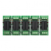 k-10d- break-away 5 sets of 2 relays for up/dn, open/close