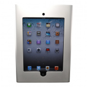 we-ipd2-slv- silver ipad 2 enclosure mounts on 2 gang electrical box