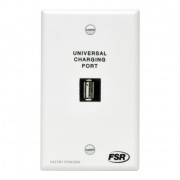 it-usb-chrg-wht- universal charging port wall plate, snap-in, power supply