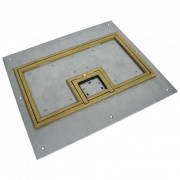 "U-Access Cover - FL-600P Cover - 1/4"" Brass Flange"