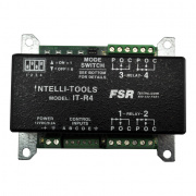 it-r4- 4 relay module w/ contact closure control