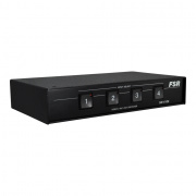 sn-4100- high res 4x1 rgbhv (hd-15) switcher contact interface