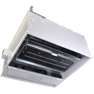 2x2 High Capacity Ceiling Box With 4ru Drop Down Cage