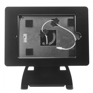 tm-ipd-tr-l- black ipad table top mnt ,tilt/rotate w/ lightning conn