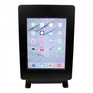 tm-ipdnb-tr-blk- ipad table top mnt, no button, tilt/rotate