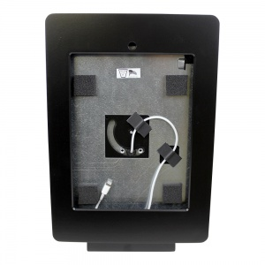 tm-ipdnb-trs-l-blk- black ipad table top mnt, tilt/rotate/swivel w/ lightning conn