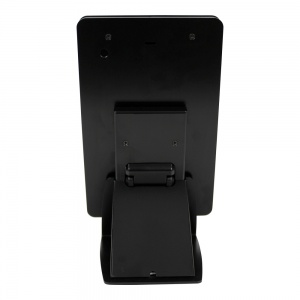tm-ipmini-trs-blk- black ipad mini table top mnt, tilt/rotate/swivel