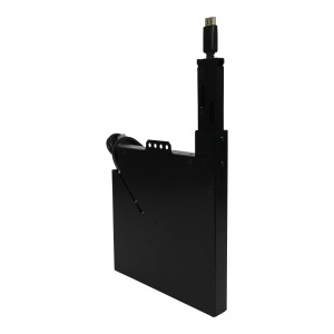 tbbr-dspt-bk- display port cable retractor - black