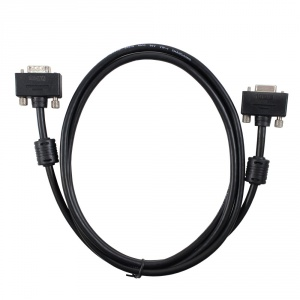 6' hd-15 cable- hd-15 f chassis mnt to m