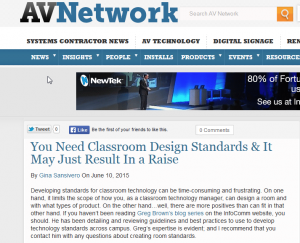 You Need Classroom Design Standards It May Just Result In a Raise