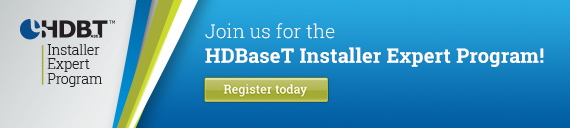 HDBaseT Installer expert Program