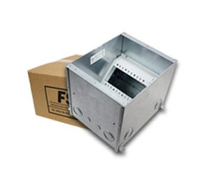 FSR Floor Boxes for concrete