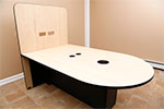 HuddleVU Maple Table Option