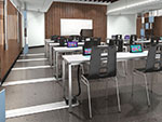 On-Floor Classroom with 4-Circuit Monument power system.