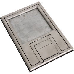 "fl-200-slp- scrub water cover – 1/4"" beveled aluminum edging"