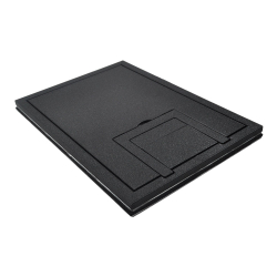 "fl-200-sld-blk-c- 1/4"" solid black tile cover"