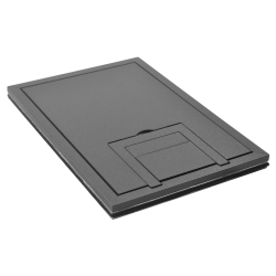 "fl-200-sld-gry-c- 1/4"" solid gray tile cover"