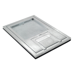 "fl-200-ssq-c- 1/4"" aluminum trim tile cover"