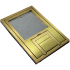 "fl-200-bsq-c- 1/4"" brass trim tile cover"